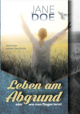 """Cover """"Leben am Abgrund oder wie man fliegen lernt!"""""""