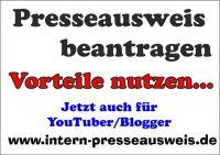 Presseausweis 2016 beantragen