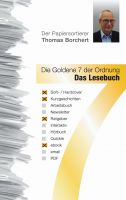 """""""Die Goldene 7 der Ordnung - Das Lesebuch"""" von Thomas Borchert"""