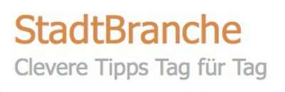 StadtBranche - Clevere Tipps Tag für Tag