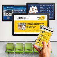 OxygenInfoscreen der DOOH media GmbH und JobnetAG