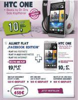"""yourfone.de """"Facebook Edition"""" inklusive HTC One plus Beats by Dr. Dre Solo Kopfhörer für fansationelle 29,90 Euro monatlich"""