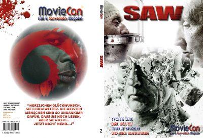 Cover des neuen MovieCon-Sonderbandes zu SAW