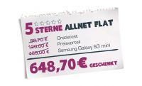 yourfone.de - 5 Sterne Allnet Flat exklusiv für Studenten noch bis zum 30.11.2013