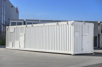 Der ELA Sondercontainerbau fertigt Container in gewünschter Größe und Ausführung.