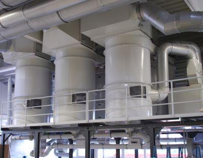 Contec Patronenfilter der Baureihe RDF zur Abscheidung von Kunststoffspähnen