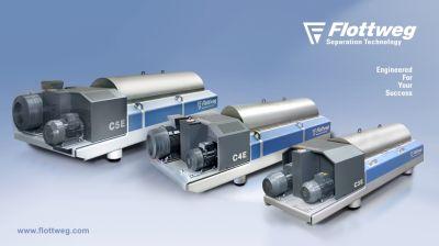 Die neue C-XI Dekanter-Baureihe von Flottweg