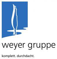 Logo der weyer gruppe - komplett. durchdacht.