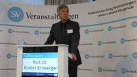 Moderator und Konferenzleiter: Prof. Dr. Gunter Schweiger, Technische Hochschule Ingolstadt