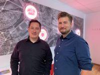 GBI-Geschäftsführer Andreas Zacherl präsentierte mit Hannes Heidenreich  die neue Anwendung Kommune 3D.