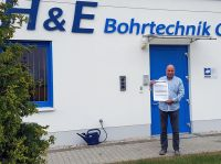 Geschäftsführer Thomas Heidler freut sich über Bestnoten für seinen Förderantrag von der EU.