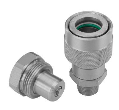 Die Schraubkupplung QRC-HI eignet sich für Hochdruck-Anwendungen bis 720 bar.