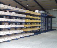 Kragarmregale von Lagertechnik Hahn & Groh bieten größtmögliche Flexibilität
