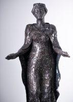 """Skulptur der """"Heiligen Barbara""""/Foto: Robert Michael für Jähnig GmbH"""