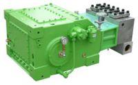 Der neue Antriebsstrang erhöht die Energieeffizienz und Laufruhe der Hochdruck-Plungerpumpen und senkt den Geräuschpegel.