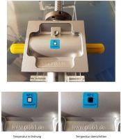 Temperaturmessstreifen erhöhen die Sicherheit der Hubgetriebe und verhindern vorzeitigen Verschleiß und teure Defekte.