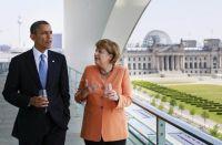 US-Präsident Obama und Bundeskanzlerin Merkel (Bild: Bundespresseamt)