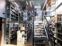 Auf einer Grundfläche von rund 40 Quadratmetern installierte Lagertechnik Hahn & Groh eine zweigeschossige Anlage vom Typ SUPER 3.