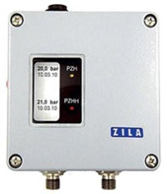 Sicherheitsdruckbegrenzer DB1000/2 für fallenden Druck und Konfigurationssoftware
