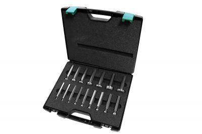 Die Konuslehren können einzeln für Rohrdurchmesser von 6-42 mm oder als Set im Koffer bezogen werden.