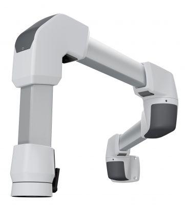 Modernes Design kennzeichnet das neue taraSMART Tragarmsystem von Rolec. Verschiedene Montagevarianten stehen zur Verfügung.