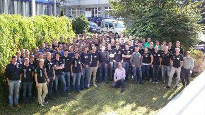 Gruppenbild des CAE Workshops für Rennteams 2012