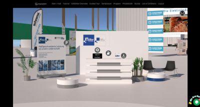 Messestand Dr. Dietrich Mueller GmbH Virtual Coil Show