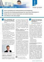 Kostenloser Download der weyer news 3. Quartal 2013 ab sofort verfügbar!
