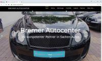 cmsGENIAL-System für Bremer Autocenter