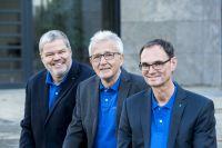 Das Team von Planer am Bau: Dr.-Ing. Knut Marhold, Dr.-Ing. E. Rüdiger Weng, Prof. Dr.-Ing. Thomas Benz