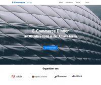 E-Commerce Dinner am 09.03.2020 in der Allianz-Arena powered by Adobe, Akeneo und TechDivision
