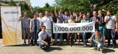 Echobot mit einer Milliarde Artikel im Suchindex