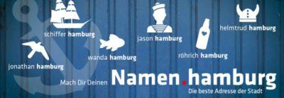 Verpassen Sie nicht die Chance, unter der Hamburg-Domain ihren Wunsch-Namen zu bekommen!