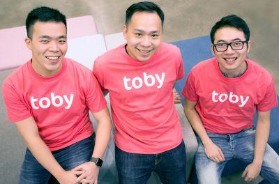 Die drei Gründer von HelloToby.com: Kevin Kuo, Ed Tam and Jason Zheng (v.l.). Foto: Firma