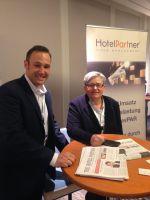 Renko Hermans, Head of Business Development Germany und Brita Moosmann, Geschäftsführerin der HotelPartner Deutschland GmbH.