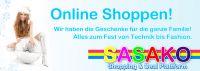 Sasako Shopping Portal Das neue Shopping Portal Sasako eröffnet hiermit das große Weihnachtsgeschäft!