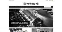 Neues Shop-Design beim Tuner Kraftwerk