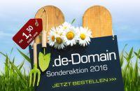 de.-Domains zum Knallerpreis
