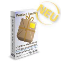 Product Bundles Erweiterung für Shopsoftware Gambio veröffentlicht