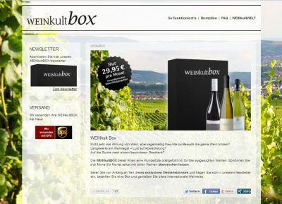 www.weinkultbox.de - Genießen - Bestellen - Teilen!