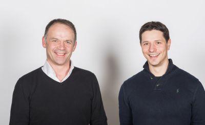 Die Kulinado-Gründer Ralph Strachwitz und Manuel Appold