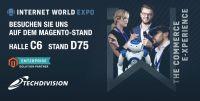 TechDivision auf der Internet World Expo 2019 als Aussteller auf dem Magento Stand