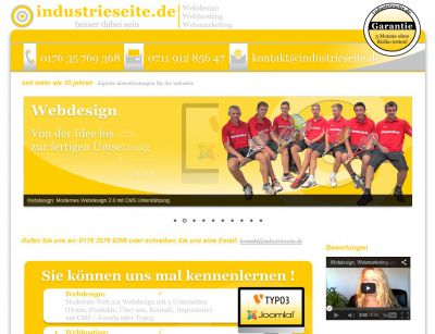 Webdesign, Webhosting und Webmarketing