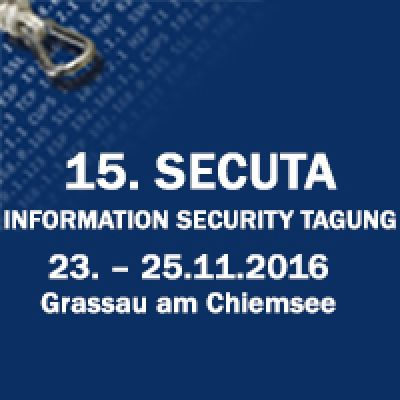 15. SECUTA Information Security Tagung 2016