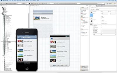 AppConKit im Einsatz: iOS und Android Apps crossplattform, schnell, einfach und speziell für den Einsatz in Unternehmen entwickeln