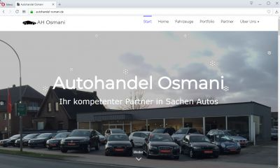 cmsGENIAL-System für Autohandel Osmani