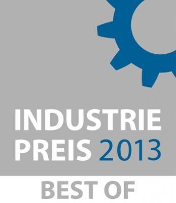 """Die Firmensuchmaschine Bailaho wurde beim Industriepreis 2013 Best of in der Kategorie """"IT- & Softwarelösungen für die Industrie""""."""