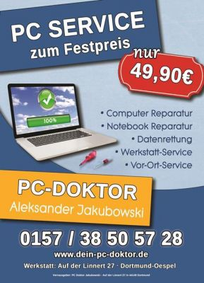 PC Doktor Jakubowski Flyer