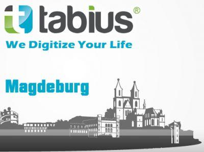 Logo der lokalen Tabius-Niederlassung in Magdeburg