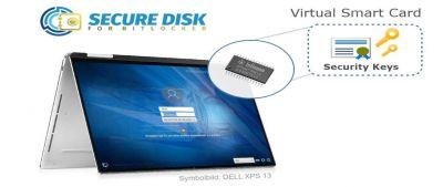 Microsofts Virtuelle Smartcard von in Secure Disk